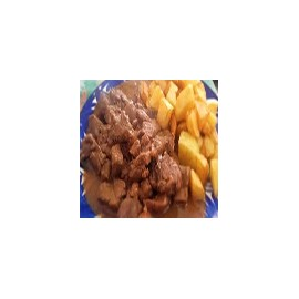 Wild Boar and Chips