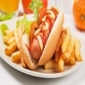 Hot Dog with Chips