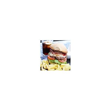 Hamburguesa Especial y Fritas