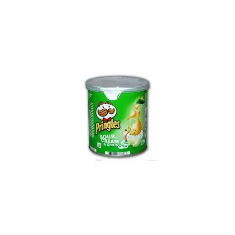 Crisps Pringles 40gr Sour Cream and Onion