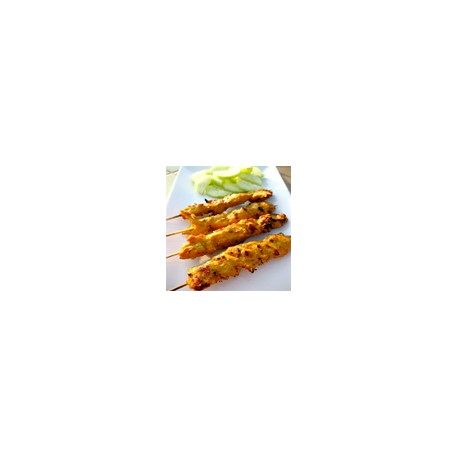 Pinchos de pollo satay (4 sticks)