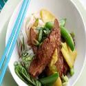 Pato Pekin con salsa de pina