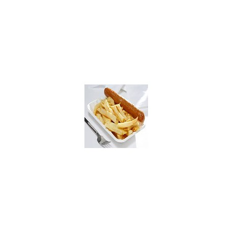 2 Salchicas inglesas y patata