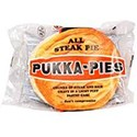 Pukka Pie (All Steak ) and chips