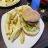 Irish beef burger and chips