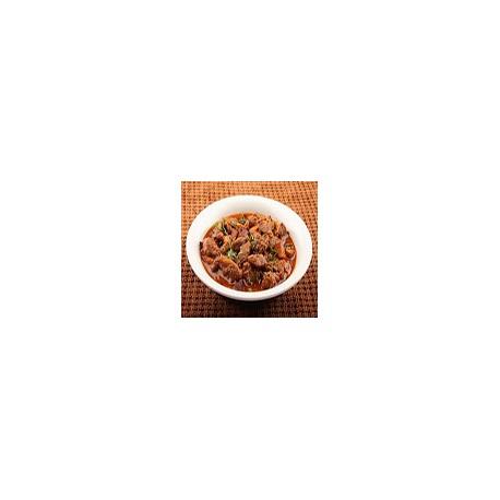 Ternera con salsa curry