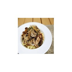 Beef with fresh mushrooms