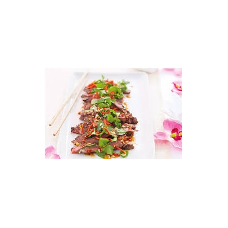 Grlled Sirloin with Black Pepper