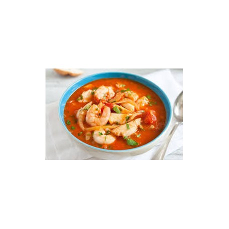 Traditional Canarian Stew (Prawn,Mushrooms,Octopus)