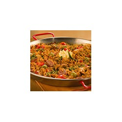 Paella con Carne