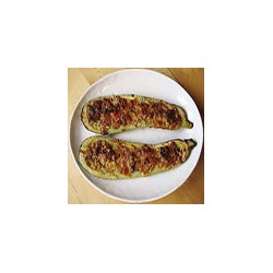 Stuffed and Baked Courgette