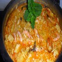 Caldoso (Brothy Rice) with Seafood
