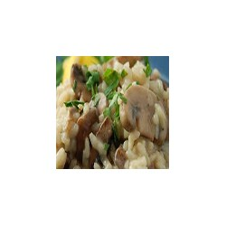 Mushroom Risotto with Philadelphia Cheese