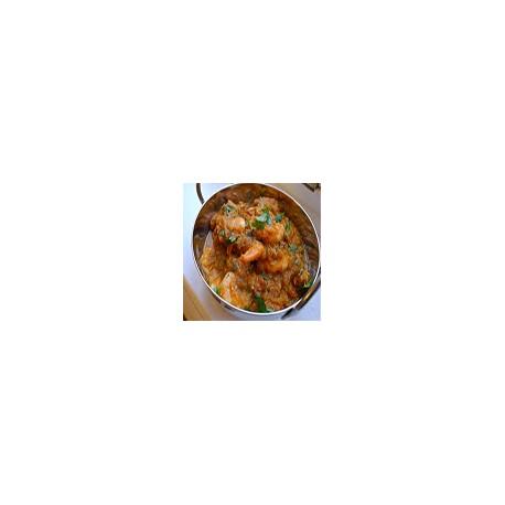 Langostinos Curry