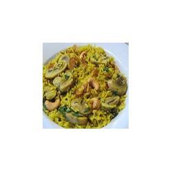 Mushroom Pilau Rice
