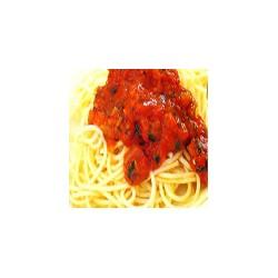 Spaguetti in Napolitan Sauce