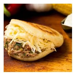 Meat & Cheese Arepa