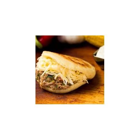 Meat & Cheese Arepa