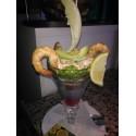 Cocktail De Gambas con Aguacate