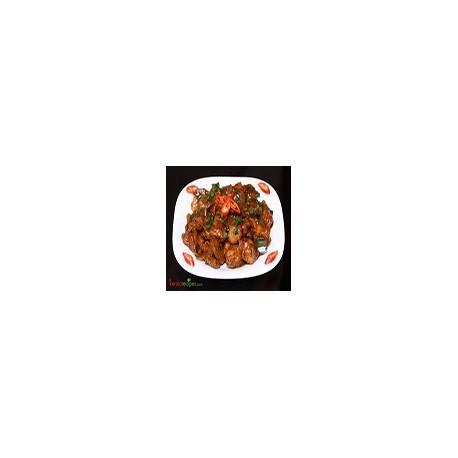Pollo Tikka Chilli