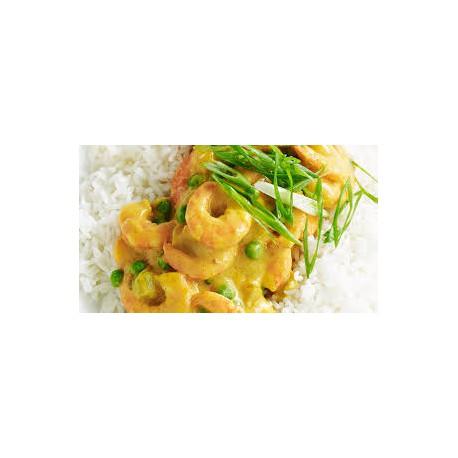 Curry de Gambas