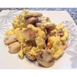 Scrambled Eggs w/ Mushrooms