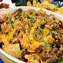 Nachos w/Chicken,Cheese, Sauce