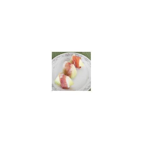 Melon w/ Serrano Ham
