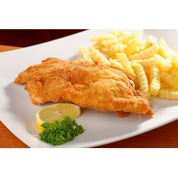 Breaded Fish with Chips