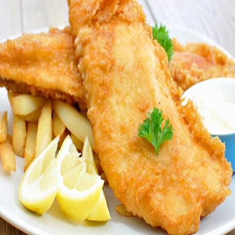 Haddock & Chips (Pescado & Papa Frita)