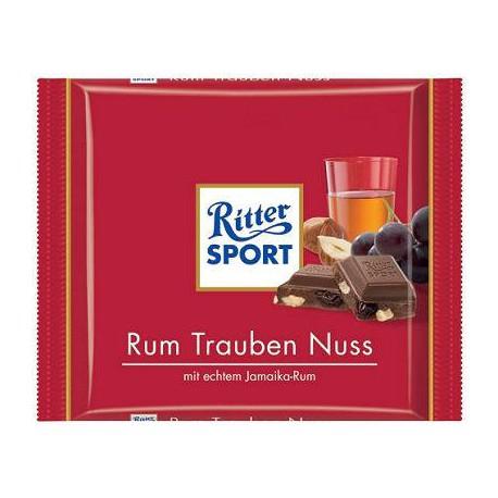 Ritter Sport Rum Raisin Hazelnoot 100g