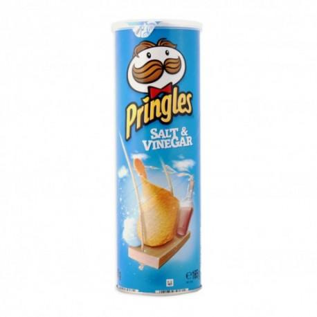 Crisps Pringles 165gr. Salt & Vinegar