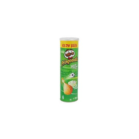 Crisps  Pringles 165g SourCream & Onion
