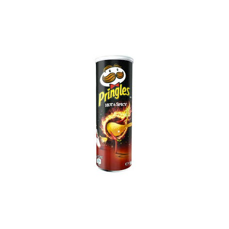 Crisps Pringles 165 gr. Hot & Spicy