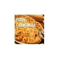 Pizza Carbonara Grande