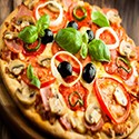 Pizza 4 Seasons Small