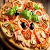 Pizza 4 Estaciones Pequena