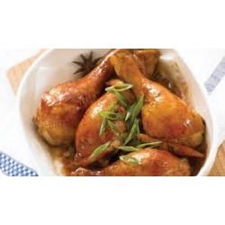 Muslos de Pollo Asados con Verdura 100gr