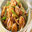 Rice Vermicelli with Prawns