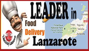 TakeawayLanzarote - Lider en Reparto a Domicilio Lanzarote Canarias