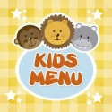 Kids Menu Fine Dining