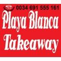 Playa Blanca Takeaway - Restaurante Comida a Domicilio Reparto Gratuito Playa Blanca Lanzarote
