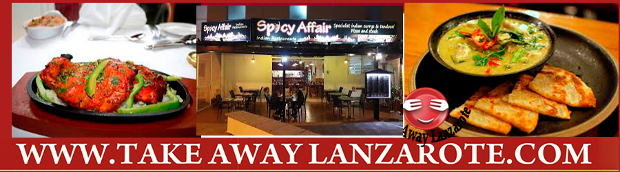 Indian Restaurant Playa Blanca Lanzarote - Takeaway & Pick up  Takeaway Costa Teguise, Lanzarote, food delivery Teguise , tahiche Yaiza, Femes, Lanzarote