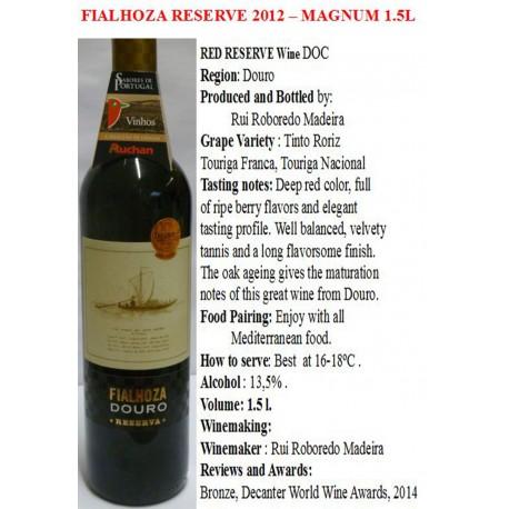Fialhoza Red Wine 1.5 L