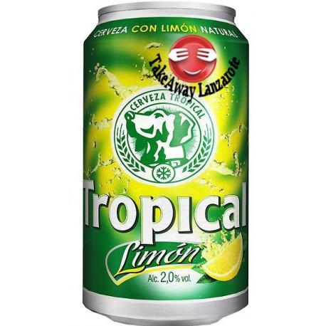 Tropical Limon Lata 33 cl - Cerveza