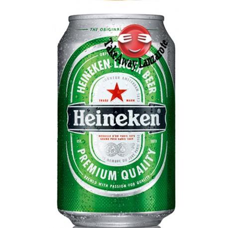 Heineken 33cl Lata Cerveza