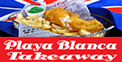 British Fish & Chips Plaice in The Sun - Takeaway Lanzarote