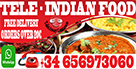 TeleIndian Indian Food Free Delivery Restaurant Playa Blanca