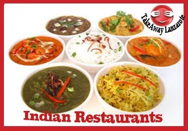 Indian Restaurant Takeaway - Food Delivery Takeaway Playa Blanca, Yaiza, Lanzarote
