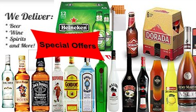 Late Night Alcohol Delivery - Takeaway Lanzarote , Playa Blanca, Puerto del Carmen, Arrecife, Costa